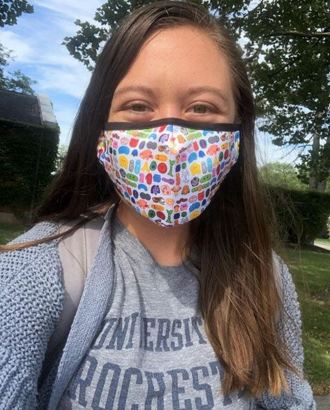Face Mask college woman