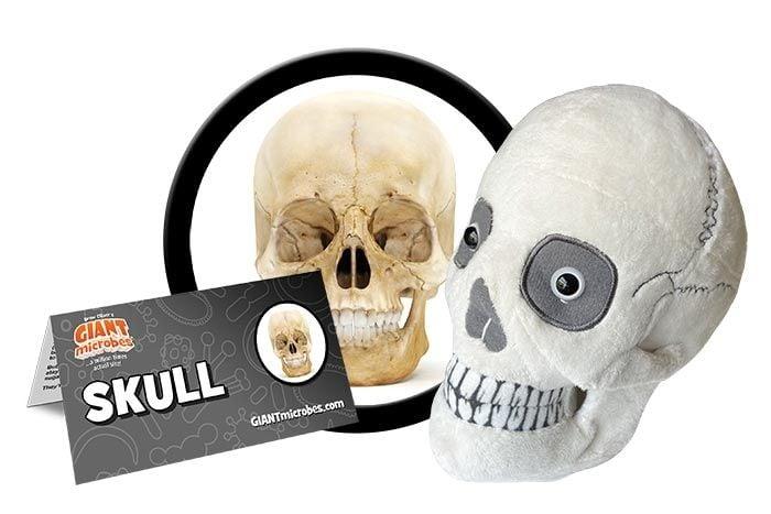 Skull plush cluster