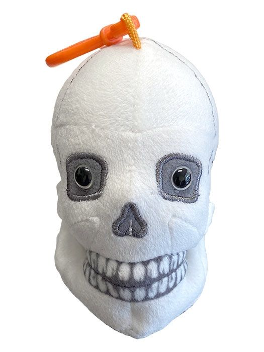 Skull key chain front