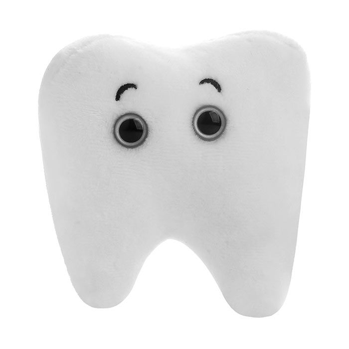 Tooth plush front