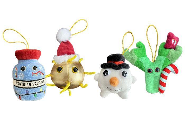 Covid Ornaments minis