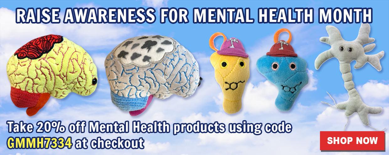 Raise Awareness for Mental Health Month